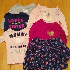 Girls 24 month top bundle